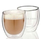Thermal Double Wall Glass Cups