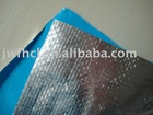 aluminum foil coated with woven fabric for heat insulation