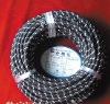 cotton textile power cord