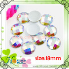 high quality colorful faceted acrylic stone for garment