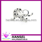 Leopard silver alloy brooches and pins