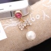 Bowknot Mobile Earphone Dust-proof Plug