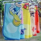 FREE SHIPING 3 PIECE ALOT HOT (Coral carpet child) cartoon super soft baby blanket blankets against the cold