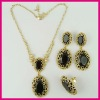 Fashion Chunky String African Shell Necklace Set, Women Hottest Jewelry Set
