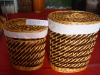 basket/storage basket in one set of three for packing clothes