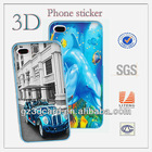 Hot sale 3D phone cover sticker 3D phone sticker