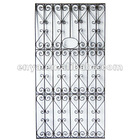 Decorative Grill Panel, Metal Antique Grille for Home Ornament