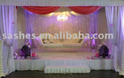 C-001 Chair cover satin table covers