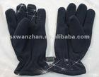 polar fleece black windproof glove