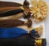 pre-bonded hair/keratin hair/stick hair /nail hair extension