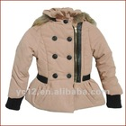 Stock: Hot Sale Cashmere&Polyester Fur Winter Clothes for Children