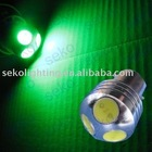 Green Color 3W LED Projector Light(1073/1074, DAY15S/BAY15D)