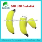 Banana shape 8GB USB flash disk