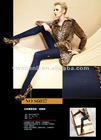 12D Super fine elastic fiber body leggings
