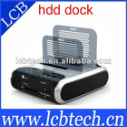 USB3.0 HDD Dock Station D2 Wifi +USB+Esata+Readcard +Cloning Function