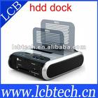 USB3.0 HDD Dock Station D2 Wifi +USB+Esata+Readcard +Cloning Function