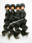 Wholesale beauty supply virgin indian natural wave hair extensions
