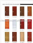 Steel Wood Edge Door