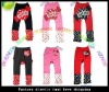 2012New Autumn&Winter sweet100%cotton Kids' Cartoon PP Pants Thick Trousers Baby PP pants,sweet baby Trousers,baby pants short