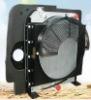7 ton excavator ,oil/water cooler,cooler package, radiator