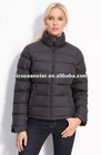 Quilted Down Jacket Coat Overcoat