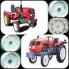 Agricultural wheel rim