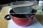 Porcelain Enamel Nonstick deep frying pan