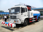 DF with front-cleaning high-pressure watering truck