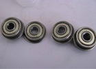 2012 flanged ball bearing F624ZZ F626ZZ ,chrome steel gcr15