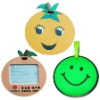 2012 hot selling cute and promotion pretty pvc luggage tag