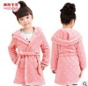 china wholesale clothing for baby girl night-robe winter thicken pajamas/nightown