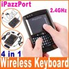 iPazzPort Voice Mini Wireless Keyboard Mouse Touchpad air mouse with keyboard for smart tv