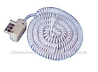 france 6/8 pin plug to modular plug telephone coil cord