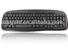 Lowest price wired computer keyboard with Multi-language version