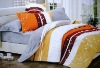 Strip Printed Bedding Set