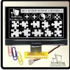 240x128 Graphic Dot Matrix LCD Display