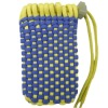 Colourful Mobile Phone Zipper Knit Shoestring Pouch