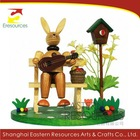 Easter Rabbit - Wooden Easter Decoration
