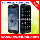 HERO 9300+ 5.3 inch MTK6577 Dual Core Android Phone
