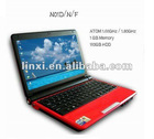 10.2 inch laptop notebook S30 Atom D2500 window 7 or window xp 1.8GHz,1G 160G
