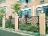 Powder coated galvanized residential metal fencing