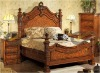 Latest- Classic Solid Wooden Bedroom Furniture