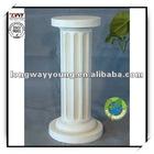 28.5Inches Fiberglass White Roman column
