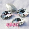 2012 super shiny crystal flat back sew on glass beads