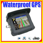 Hot Sales! 3.5 inch Waterproof GPS Navigation for Bike Motorcycles with Bluetooth,FM, 128MB