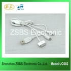 New Style 4 in 1 USB Data Cable for Apple Products