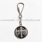 Key Ring (Classic Black Celtic Keltic Iron Cross Knot)