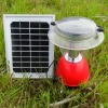 12 LED solar rechargeable camping lamp