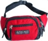 fashion polyster sport waist bag