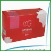 personal care clear pvc plastic box
